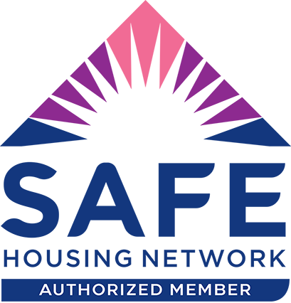 S.A.F.E. HOUSING NETWORK Authorized Member Logo